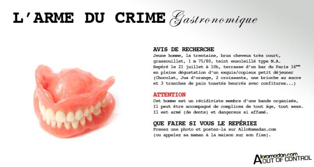 Les dents de la mort !