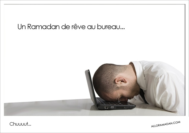 Le Ramadan au travail...